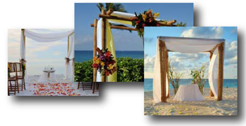 How to Make a Bamboo Wedding Arch Sunset Bamboo