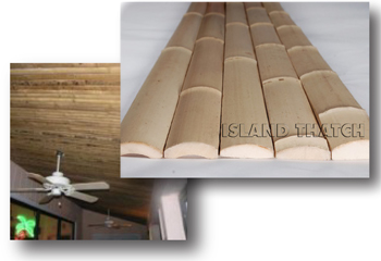 wall decor homesthetics bamboo slat ceiling installation instructions  sunset bamboo